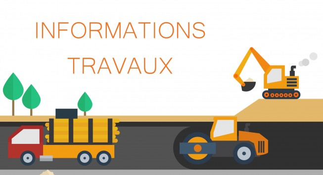Informations Travaux, rue Gloriant.